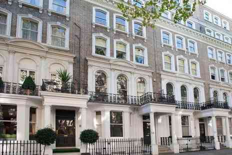 The Beaufort Hotel - Four Star Family Owned Boutique Townhouse in Knightsbridge for two - Save 0%