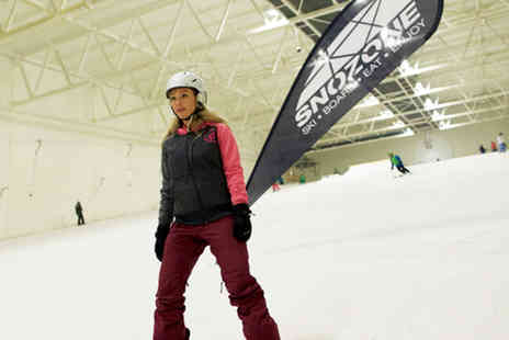 Snozone Xscape Castleford - Beginners junior ski lesson - Save 40%