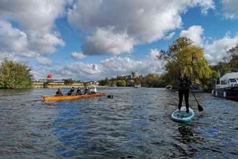 Paddleboarding London - Paddleboard Past Windsor Castle in Historic Windsor - Save 0%