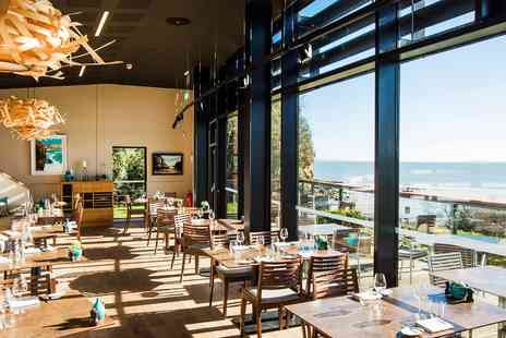 Coast Bistro and Cafe - 2 AA Rosette tasting menu for 2 with unrivalled views - Save 36%