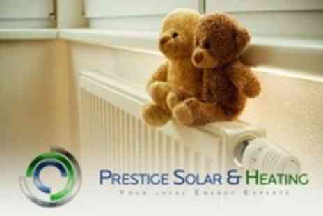 Prestige Solar - Platinum Care Agreement For Boiler, Plumbing and Central Heating With Initial Service - Save 79%