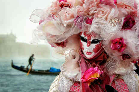 Weekender Breaks - Two nights Venice Carnival escape with flights and choice of tours - Save 23%