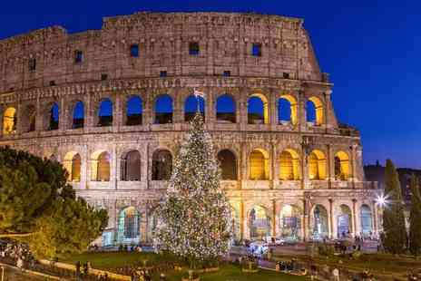 Bargain Late Holidays - Two nights Rome Christmas market break with breakfast and return flights - Save 29%