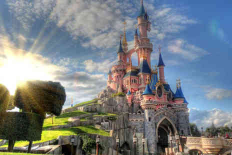 Super Escapes Travel - Two nights Disneyland Paris mini-break with return flights or Eurostar - Save 39%