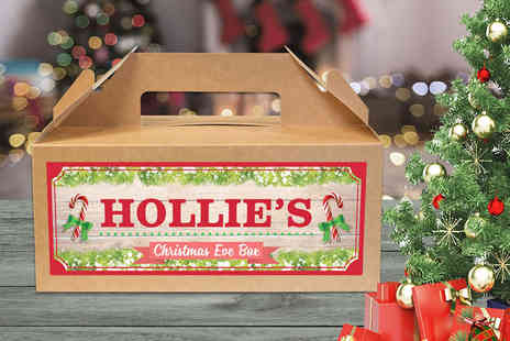 Personalised Gifts Market - Personalised Christmas Eve box choose from four designs - Save 73%