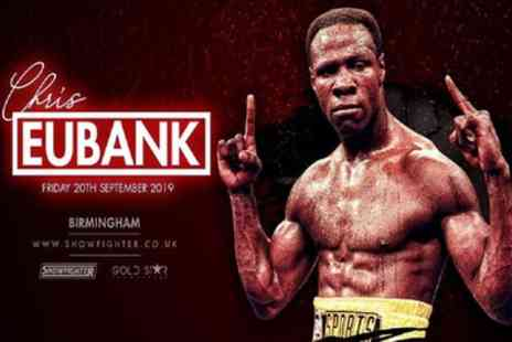 An Evening with Chris Eubank Snr - One silver or One gold ticket from 20th September - Save 56%