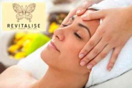 Revitalise - Spa Facial With Head, Face and Shoulder Massage - Save 69%