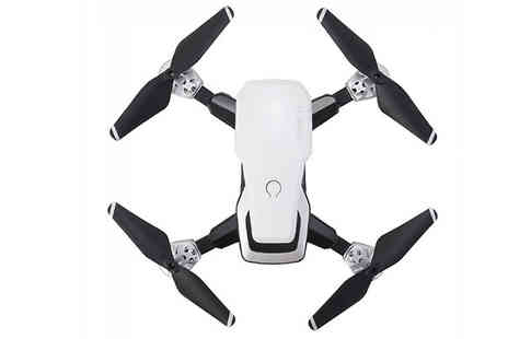 WowWhatWho - Folding Remote Control Drone With Optional 720P or 1080P Camera Choose from 3 Colours - Save 78%