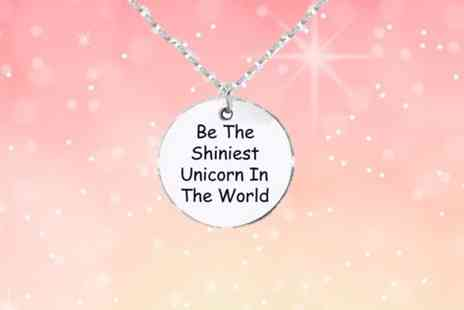 GetGorgeous - Be the shiniest unicorn in the world necklace - Save 60%