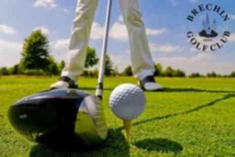 Brechin Golf Club - 18 Holes of Golf For Two With Bacon Roll and Coffee - Save 62%
