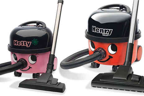 K & D Appliances - Henry or Hetty Vacuum Cleaner - Save 59%