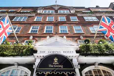 The Goring - Three courses with champagne at Michelin star restaurant - Save 0%