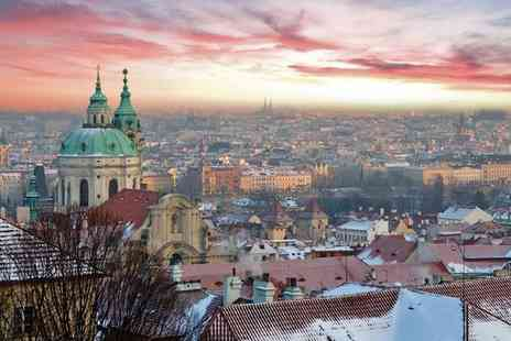 Occidental Praha Five - Four Star Stylish Design in a Fairy Tale City for two - Save 73%
