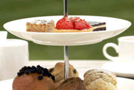The Green House Hotel - High Tea for Two with Glass of Champagne Each - Save 55%