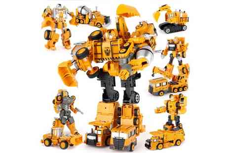 Magic Trend - One alloy shape changing robot toy - Save 80%
