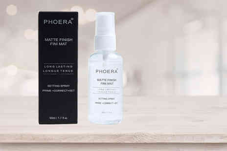 Forever Cosmetics - 1, 2 or 3 Phoera Matte Makeup Setting Spray - Save 40%