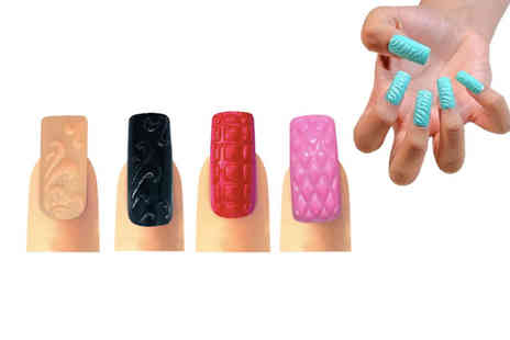 Jenna London - Nail art set or set of 3D press nails give your fingernails some extra sparkle - Save 0%