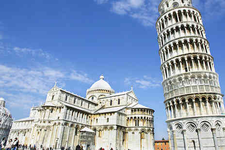 Via Holiday - Four nights Florence and Pisa getaway with train transfer between cities and return flights - Save 32%