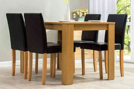 Meriden Furniture - Five piece dining room set - Save 54%
