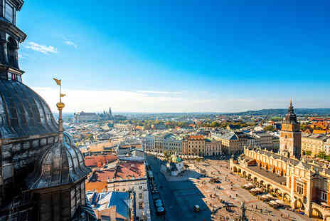 Super Escapes Travel - Four Star Two nights Krakow break with breakfast and return flights - Save 30%
