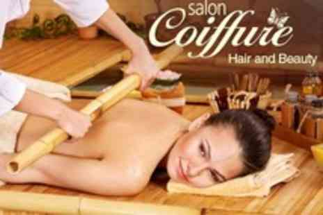 The Therapy Room - One Hour Full Body Massage Hot Bamboo or Hot Stone - Save 52%