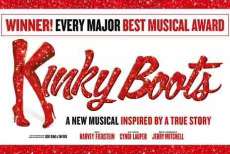 Kinky Boots The Miusical - Admission Best Available Ticket from 1st To 10th October - Save 40%