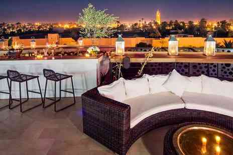 The Pearl Marrakech - Five Star Chic Rooftop Opulence with Exclusive Spa Discount for two - Save 59%
