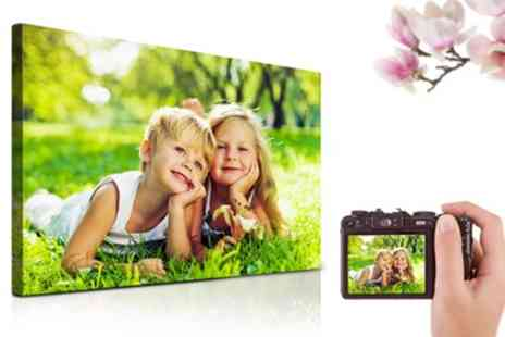 Printerpix - Personalised Canvas Print, 30x20 Inch or 40x30 Inch - Save 16%