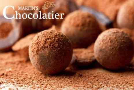 Martins Chocolatier - VIP Chocolate Tasting Experience For One with Belgian Waffle, Ice Cream and Hot Chocolate - Save 52%