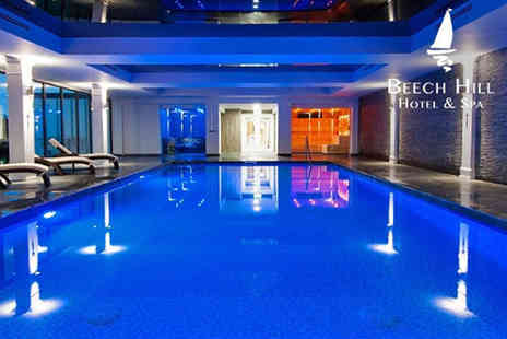 Beech Hill Hotel - Overnight stay for two people including breakfast, spa access and late check out - Save 38%