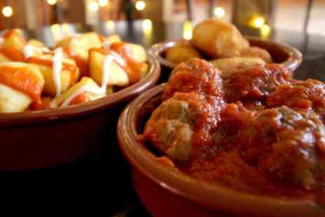 The Dog House Bar - 6 Tapas for Two or 12 for Four with Optional Glass or Bottle of Wine - Save 31%