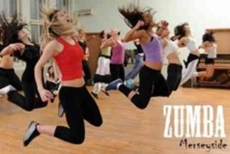 Zumba Merseyside - Ten Zumba Fitness Classes - Save 53%
