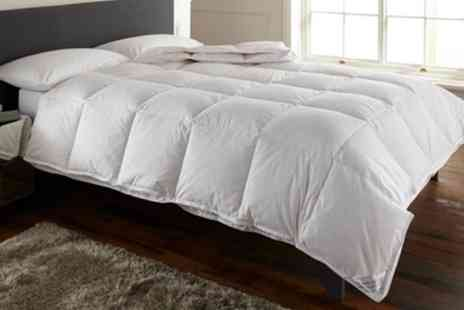 Groupon Goods Global GmbH - All Seasons Double Sided Duck Feather Duvet - Save 0%