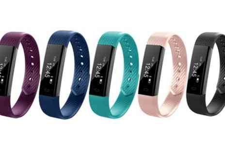 Groupon Goods Global - VeryFit ID115 14 in 1 Smart Fitness Tracker - Save 82%