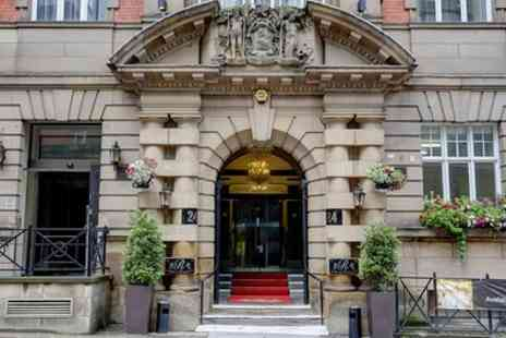 The Richmond Hotel - Double Room or Junior Suite for Two with Breakfast, Prosecco and Late Check Out - Save 17%