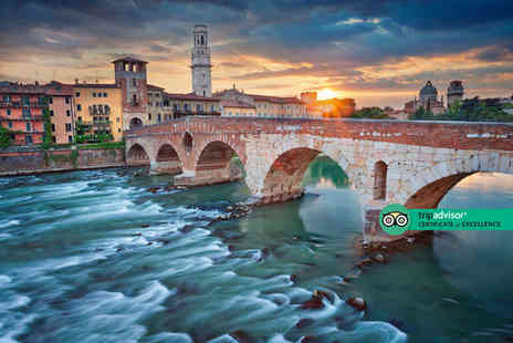 Crystal Travel - Four Star Two nights Verona Christmas market break with breakfast and return flights - Save 20%