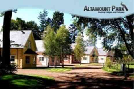 Altamount Park - In Perthshire Three Night Cottage Stay For Up to Four - Save 54%