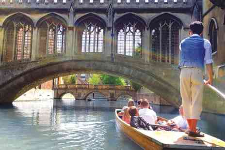 London Sights & Attractions - Traditional Cambridge Punting Tour - Save 0%