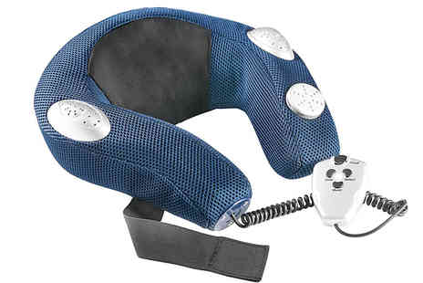 Home Season - 6 in 1 Vibrating Neck Massager - Save 71%