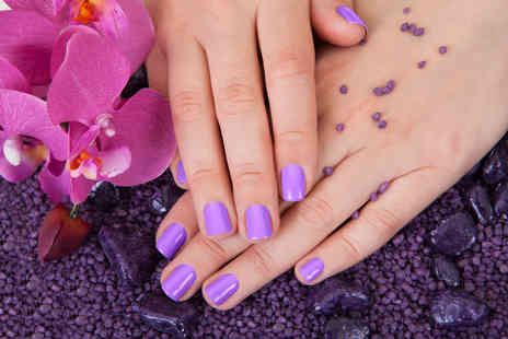 Cover Beauty Salon - Gel polish manicure or a pedicure or both - Save 50%