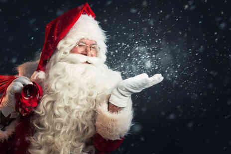 Hoo Farm Animal Kingdom - Child and adult ticket to Santas Grotto - Save 44%