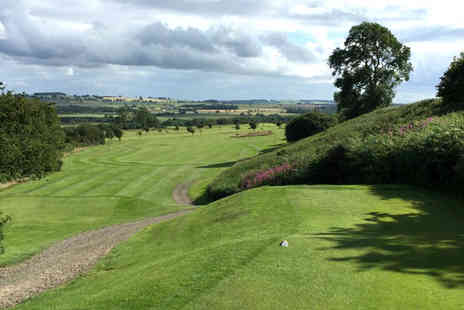 Alnwick Castle Golf Club - Full day of golf for two people - Save 76%
