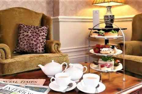 Hollin Hall Hotel and Restaurant - Afternoon Tea with Glass of Prosecco for Two or Four - Save 53%