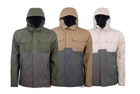 Brand Shopping Direct - Mens Crosshatch rainblock jacket - Save 66%