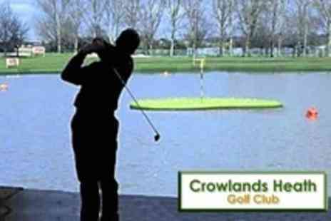 Crowlands Heath Golf Club - 18 Holes of Golf For Two With Bacon Roll and Bucket of Aqua Range Balls - Save 68%