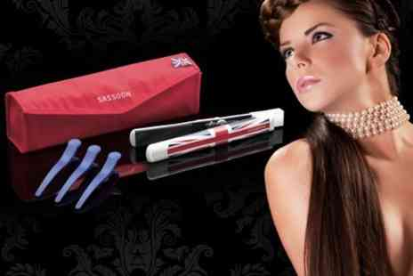 Outlet Zone - Sassoon Limited Edition Union Jack Hair Straighteners - Save 58%