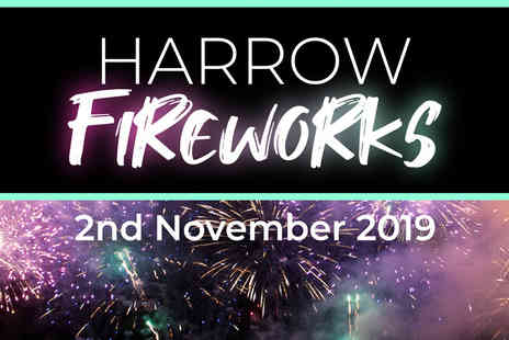 Harrow Fireworks - Child ticket Make this years Bonfire Night really bang - Save 60%