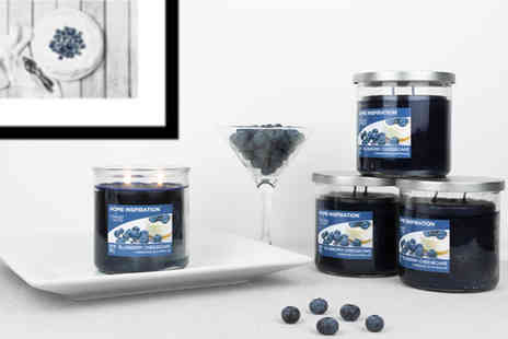 Yankee Bundles - Set of four Yankee Candle blueberry cheesecake twin wick tumbler candles by yankee candle - Save 47%