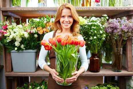 London Institute of Business & Management - Floristry and flower arranging diploma - Save 97%