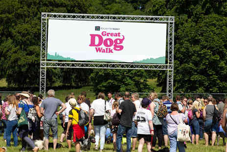Dogfest - Ticket for one or a family ticket to the Great Dog Walk choose from two dates - Save 33%
